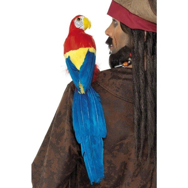 Pirate Parrot 20-inch Shoulder Prop with Elastic Strap