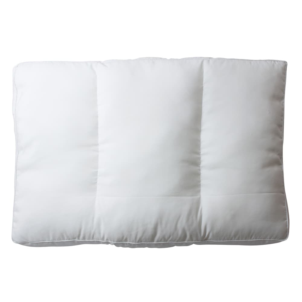 Austin Horn Classics Adjustable Sleeping Pillow with Neck Support - White (King Pillow with Sateen Cotton Cover)