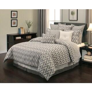 Sherry Kline Rockwell Reversible 8-piece Comforter Set