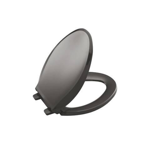 Kohler Cachet® Quiet-Close Elongated Toilet Seat Thunder Grey (K-4636-58) - Thunder Grey