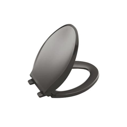 Kohler Cachet Plastic Elongated Toilet Seat K-4636-58 Thunder Grey
