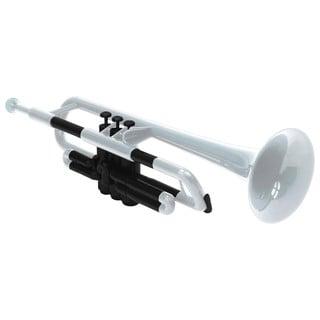 Pbone White Plastic Trumpet