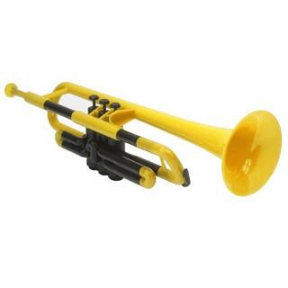 Pbone Yellow Plastic Trumpet