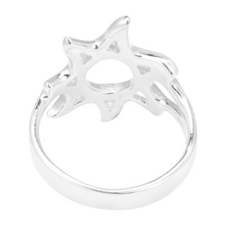 Handmade Summer Fun Sunshine Sterling Silver Ring (Thailand)