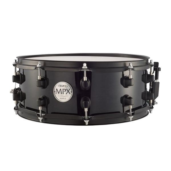 Mapex MPX Series Maple Transparent Black Snare Drum
