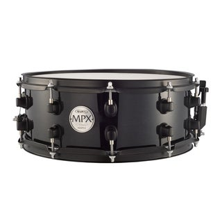Mapex MPX Series Maple Transparent Black Snare Drum