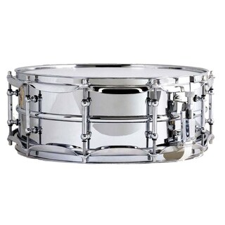 Ludwig LM400 Smooth Chrome-plated Aluminum Snare Drum