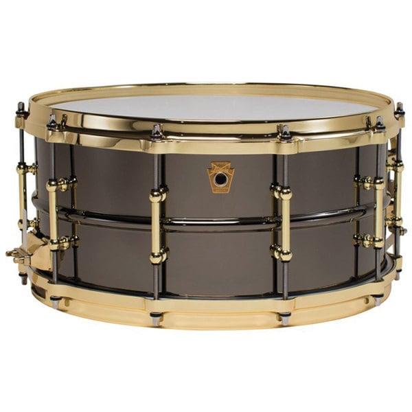 Ludwig LB417BT Black Beauty Brass on Brass Snare Drum