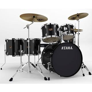 Tama Imperialstar 6-piece Black Complete Drum Kit