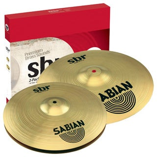 Sabian Brass SBR 2-pack Cymbal Package