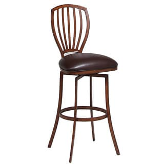 Tropez Swivel Brown 30-inch Barstool