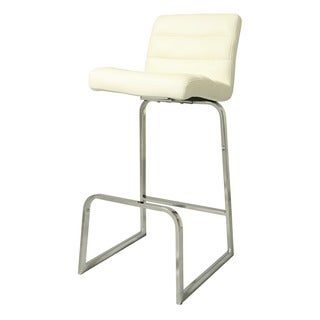 Zetta 26 Inch Off White Barstool Free Shipping Today