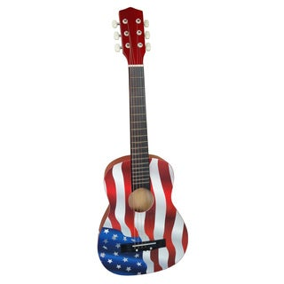 Ready Ace 30-inch American Flag Acoustic Guitar