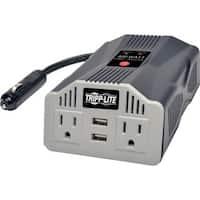 Tripp Lite Ultra-Compact Car Inverter 400W 12V DC to 120V AC 2 UBS Ch