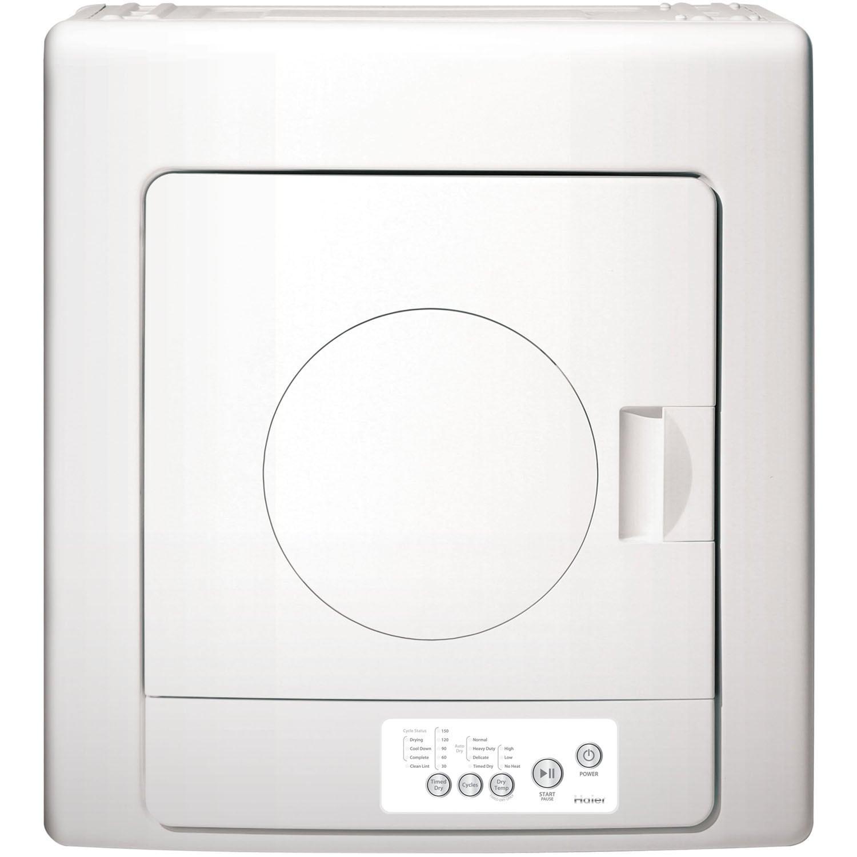 Haier 2.6 Cu. Ft. Large Capacity Portable Dryer, White (M...