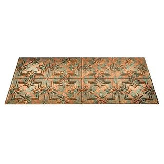 Fasade Regalia Copper Fantasy 2-foot x 4-foot Glue-up Ceiling Tile|https://ak1.ostkcdn.com/images/products/10374906/P17480986.jpg?_ostk_perf_=percv&impolicy=medium