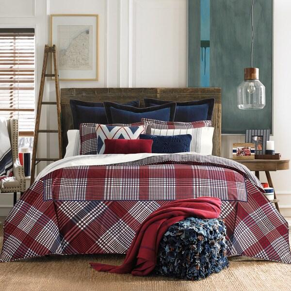 Tommy Hilfiger's Buckaroo Plaid Reversible Cotton Comforter Set