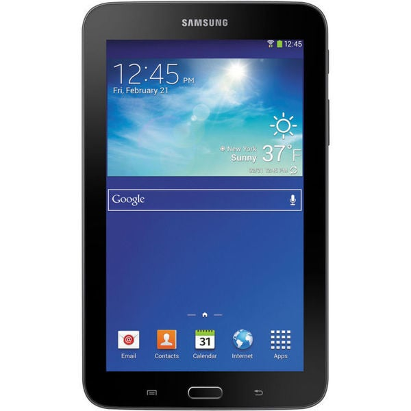 "Samsung 8GB Galaxy Tab 3 Lite Multi-Touch 7.0"" Tablet (Wi-Fi Only, Dark Gray)"