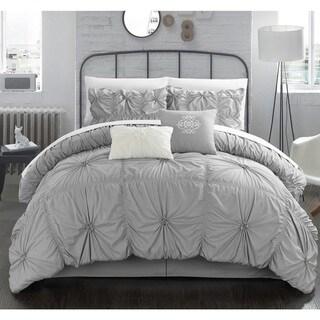Gracewood Hollow Lewis Ruffled 10-piece Comforter Set