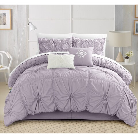 Gracewood Hollow Lewis Ruffled 10-piece Comforter Set