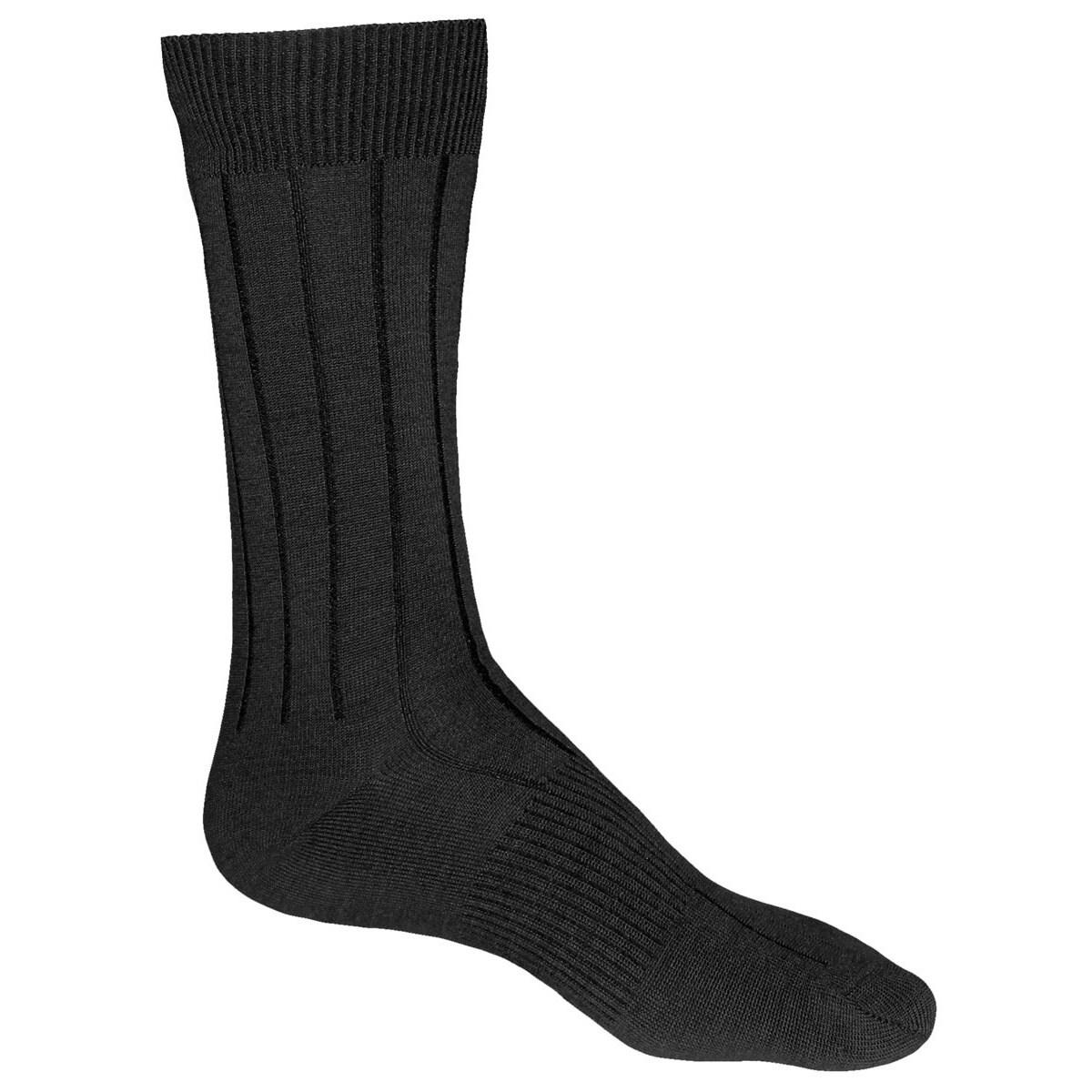 Men's Merino Urban Dress Socks (Black Medium), Size M (ca...