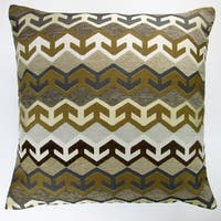 Artisan Pillows Indoor 20-inch Geometric Arrow in Brown Southwestern Country Cabin Accent Throw Pillow