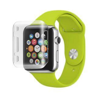 Insten Slim TPU Rubber Candy Skin Smart Watch Bumper Frame For Apple Watch 38mm|https://ak1.ostkcdn.com/images/products/10375531/P17481576.jpg?impolicy=medium