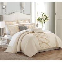 Oliver & James Labisse 8-piece Ruffled Comforter Set