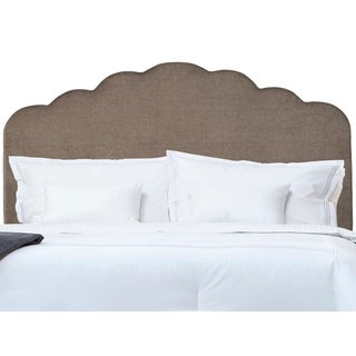 Handy Living Grey Full/Queen Upholstered Headboard