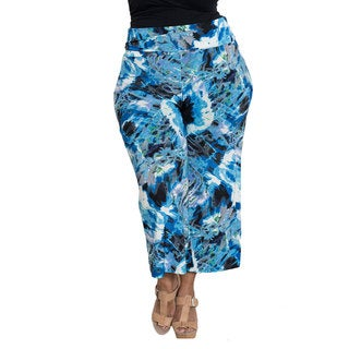 Printed Gaucho Pants