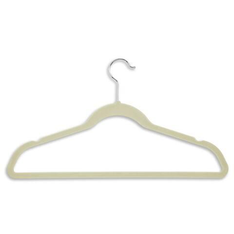 Honey Can Do White Velvet Touch Suit Hanger ( 50 Pack )