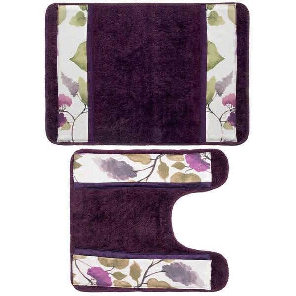 Lilac Bath Rug Home Decor
