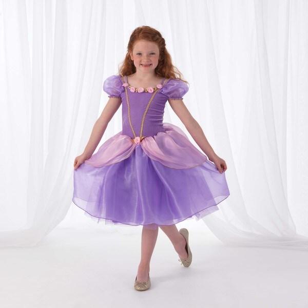KidKraft Purple Rose Princess Dress Up Costume