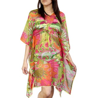 Saachi Women's Floral Tunic Cover-up (India)