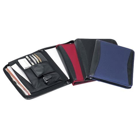 Goodhope College School Zip Around Padfolio Organizer