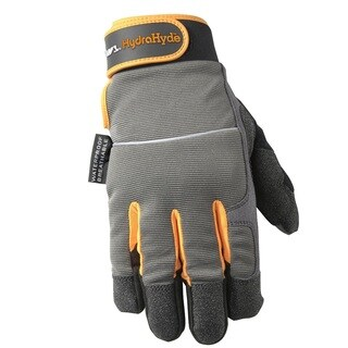 Wells Lamont HydraHyde Waterproof Synthetic Leather Gloves
