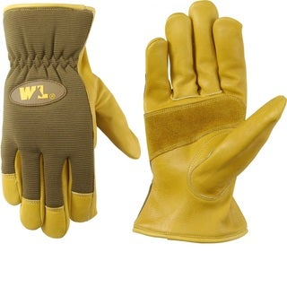 Wells Lamont Ultra Comfort Cowhide Work Gloves for Men