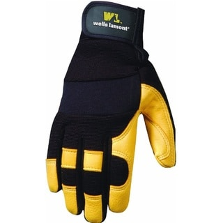 Wells Lamont Ultra Comfort Deerskin Work Gloves Men