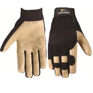 Wells Lamont Grain Pigskin Work Gloves for Men