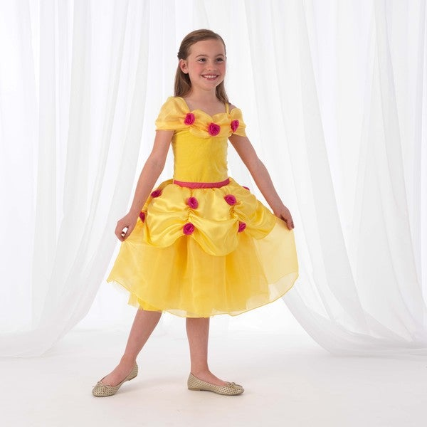 KidKraft Yellow Rose Princess Dress Up Costume