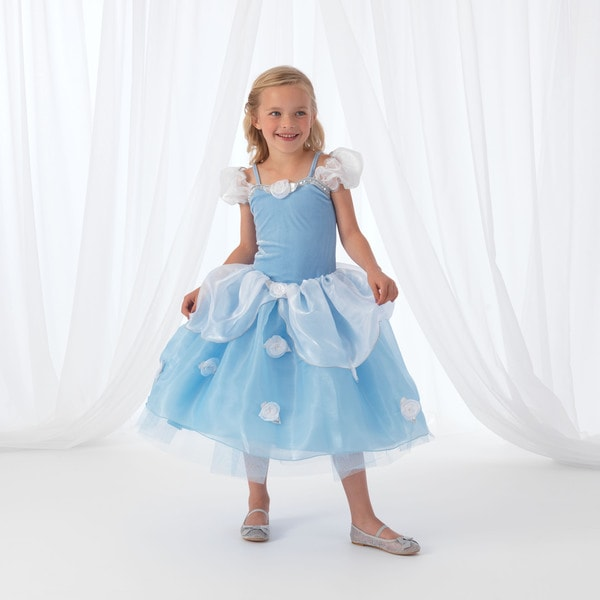 KidKraft Blue Rose Princess Dress Up Costume