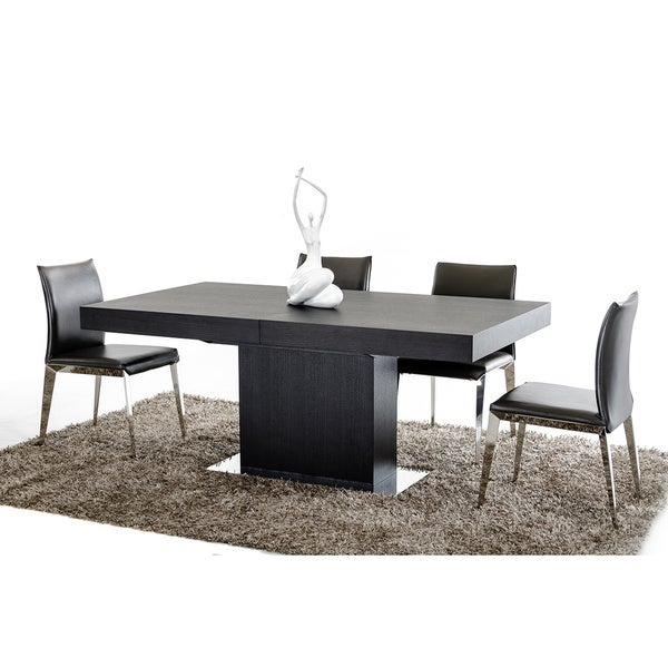 f475f7707a56f Shop Modrest Durham Modern Wenge Extendable Dining Table - Free Shipping  Today - Overstock - 10375972