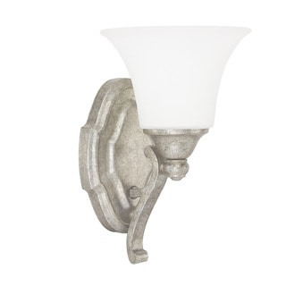 Capital Lighting Blakely Collection 1-light Antique Silver Wall Sconce
