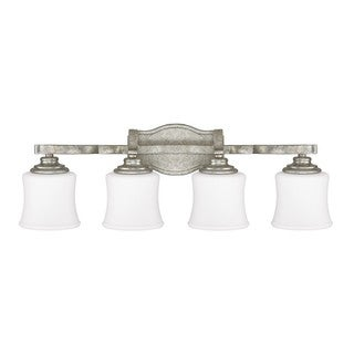 Capital Lighting Blair Collection 4-light Antique Silver Bath/Vanity