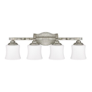 Capital Lighting Blair Collection 4-light Antique Silver Bath/Vanity