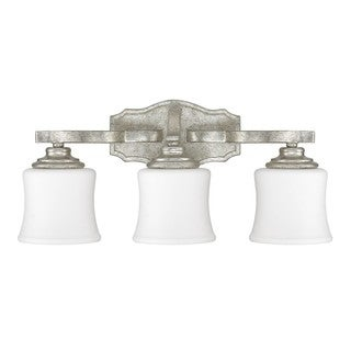 Capital Lighting Blair Collection 3-light Antique Silver Bath/Vanity