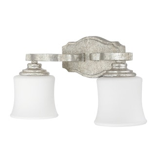 Blair 2-light Antique Silver Bath/Vanity - Antique Silver