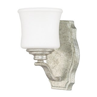 Capital Lighting Blair Collection 1-light Antique Silver Wall Sconce