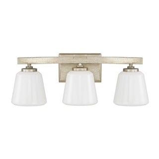Capital Lighting Donny Osmond Berkeley Collection 3-light Winter Gold Bath/ Vanity