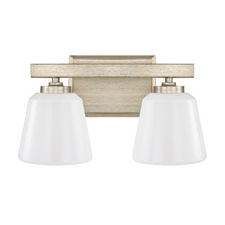 Capital Lighting Donny Osmond Berkeley Collection 2-light Winter Gold Bath/ Vanity